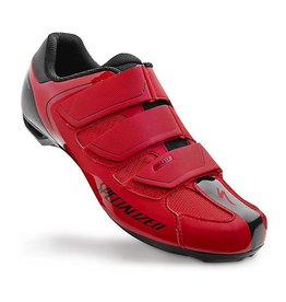 COMP RD SHOE BLK/RED 42/9