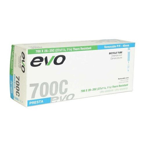 EVO, Removable Core, Inner tube, PV, 48mm, 700x28-35C