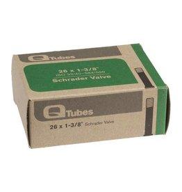 "Q-Tubes 26"" x 1-3/8"" Schrader Valve Tube 584/590 ETRTO 136g"