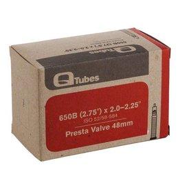 """Q-Tubes 27.5"""" x 2.0-2.25"""" 48mm Presta Valve"""