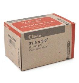 """Q-Tubes 27.5+ 584mm x 2.8-3.2"""" Tube: 32mm Presta Valve"""