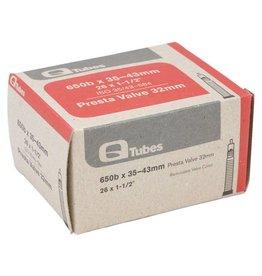 Q-Tubes 650b x 35-43mm 32mm Presta Valve Tube 584mm ETRTO