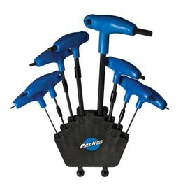 Park Tool, PH-1, P-Handled hex wrench set, 2mm, 2.5mm, 3mm, 4mm, 5mm, 6mm, 8mm, 10mm, 11mm and 12mm