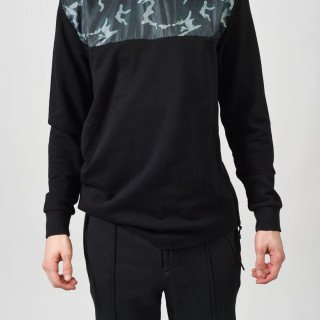 CAHILL+ CREW WITH CAMO PRINT AT TOP
