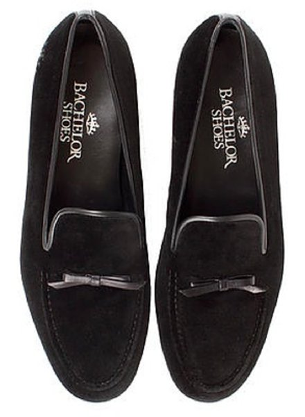 Bachelor Shoes BLACK BOW