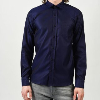 Alexander Olch Polished Cotton Twill (Blue)