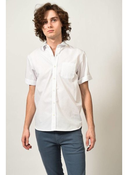 Alexander Olch Circle Spot Print Shirt