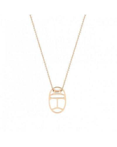 GINETTE NY Mini Wish on Chain 18K Rose Gold