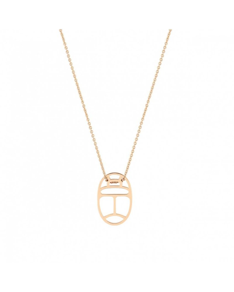GINETTE NY Mini Wish on Chain 18K Rose Gold