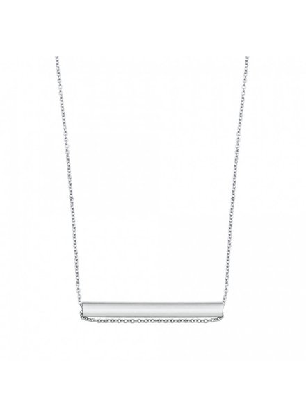 GINETTE NY Straw on Chain 18K White Gold