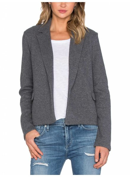 James Perse CROPPED FLEECE COAT