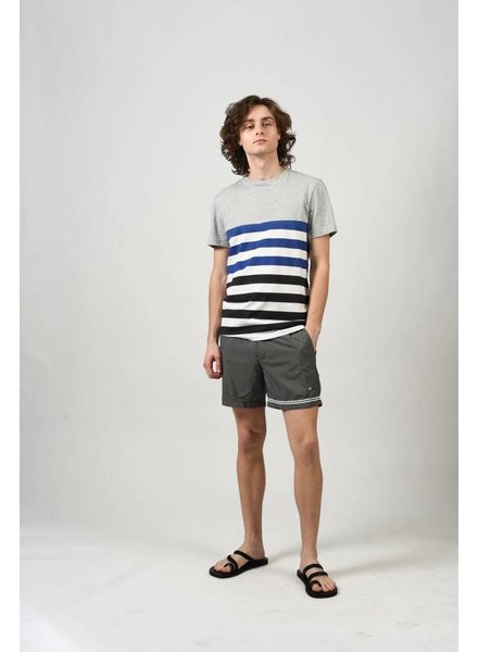 DANWARD CREW NECK T-SHIRT WITH STRIPE