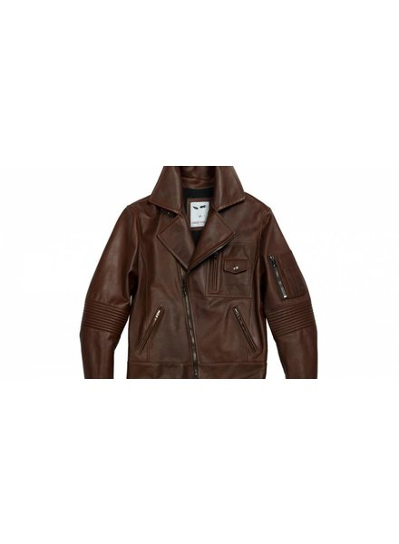 MICHAEL BASTIAN LEATHER MOTORCYCLE JACKET
