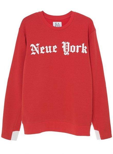 Zoe Karssen New York Sweatshirt