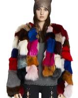 Jocelyn Furs Metallic Hat W/Fox Copper
