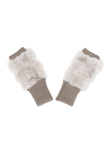 Jocelyn Furs Plucked Rabbit Grey