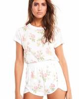 Wildfox Patchwork Floral Shirt
