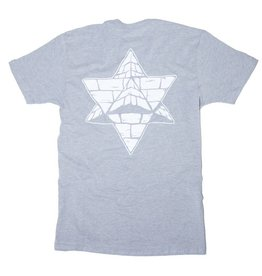 Pyramid Country Pyramid  Country Logo Grey/White T-shirt (Medium)