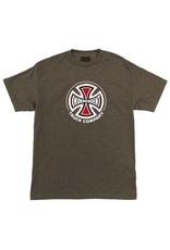Independent Independent Regular Brown Heather T-shirt (Large)