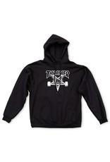 Thrasher Mag Thrasher Skategoat hoodie Black