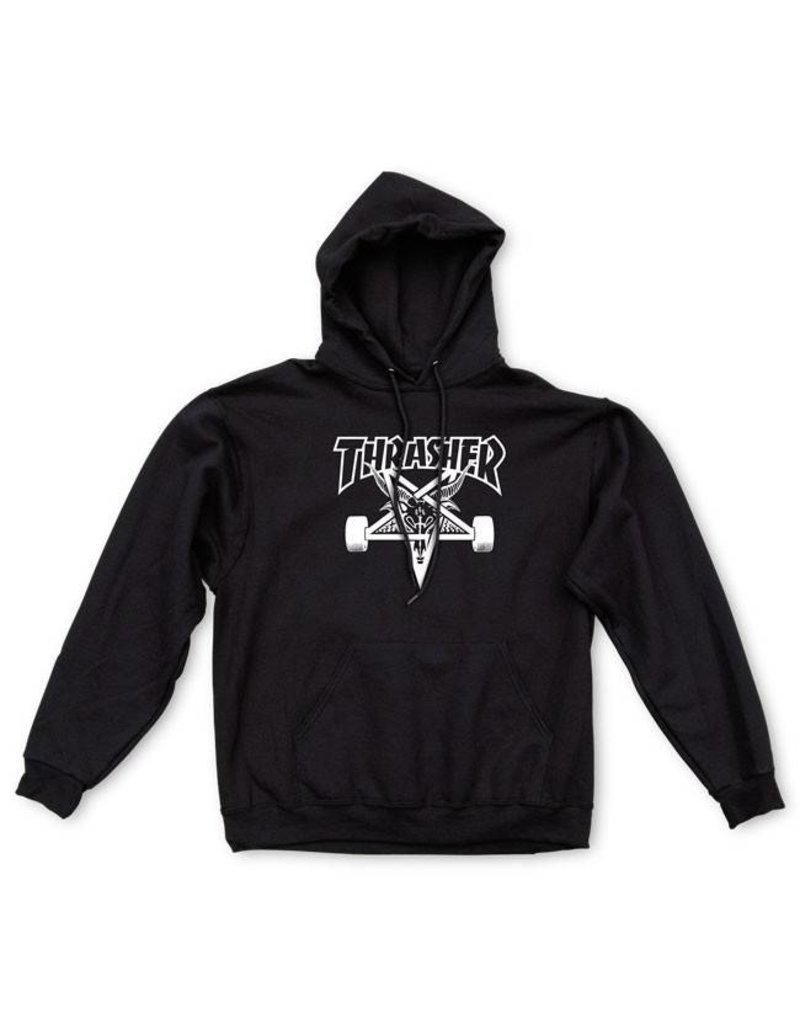 Thrasher Mag Thrasher Skategoat hoodie Black (size X-Large)
