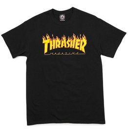 Thrasher Mag Thrasher Flame t-shirt Black (size Small)