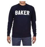 Baker Baker Rally Crewneck - Navy  (Medium or  Large)
