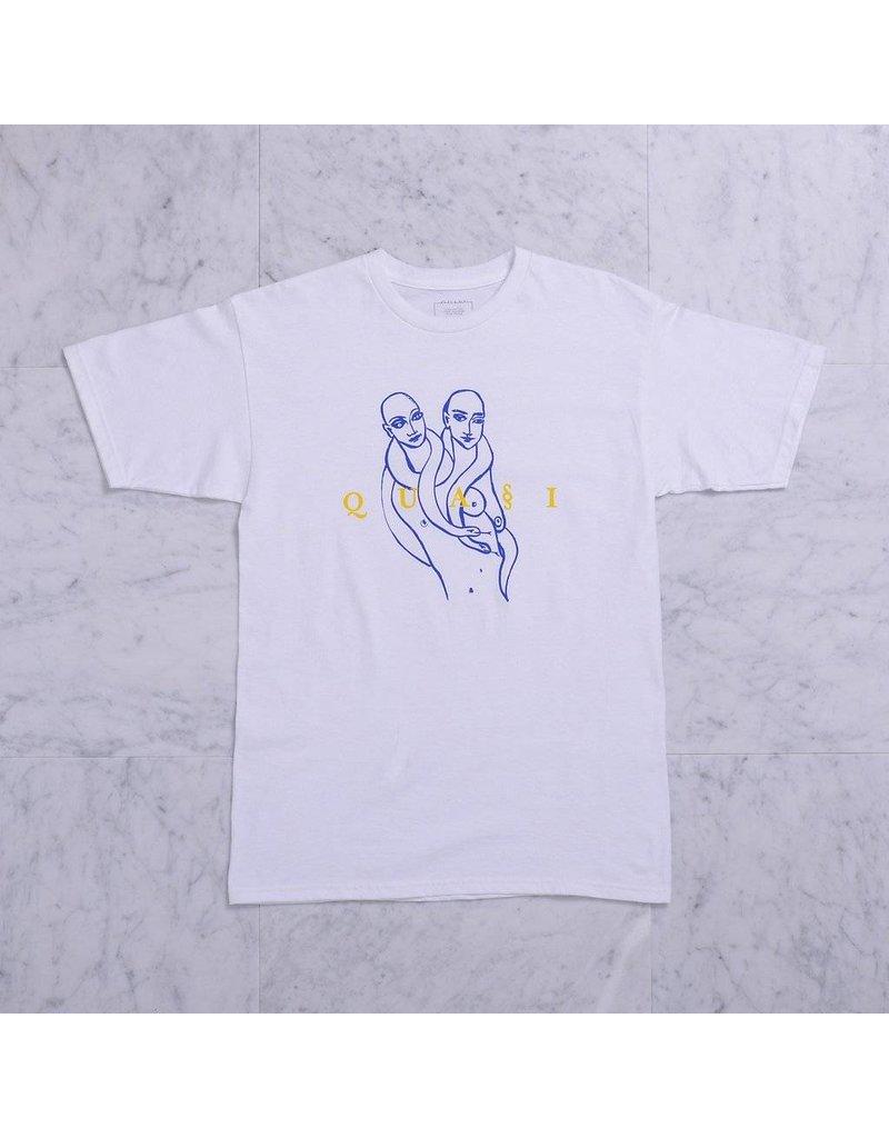 Quasi Quasi Genesis T-shirt - White (X-Large)
