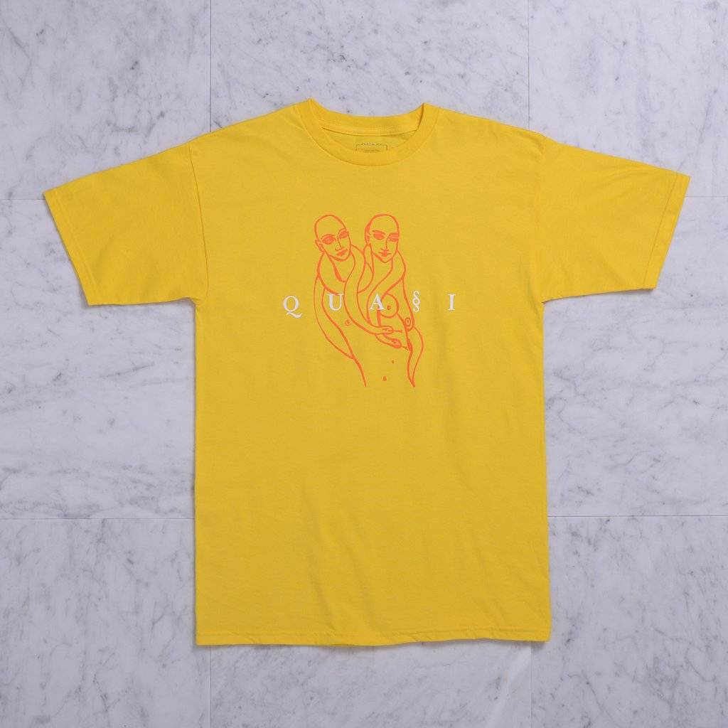 Quasi Quasi Genesis T-shirt - Yellow (size Large)