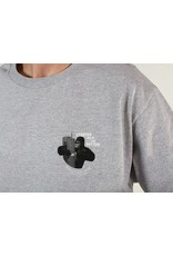 Theories Brand Theories Brand Empire Longsleeve T-shirt - Athletic Heather (size X-Large)