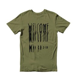 Welcome Welcome Drag T-shirt - Olive/Black
