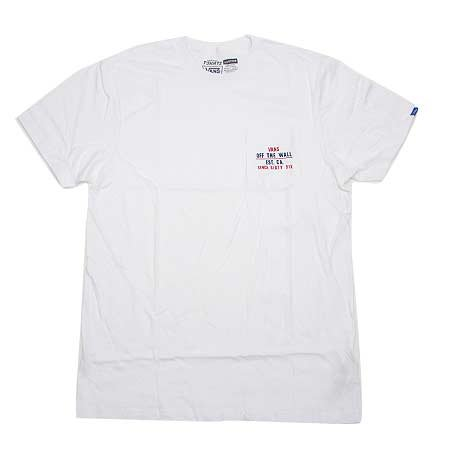 Vans Vans Mixed Pocket T-shirt - White