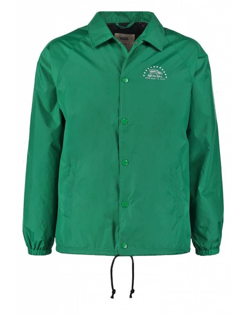 Vans Vans Torrey Coaches Jacket - Green (size  X-Large)
