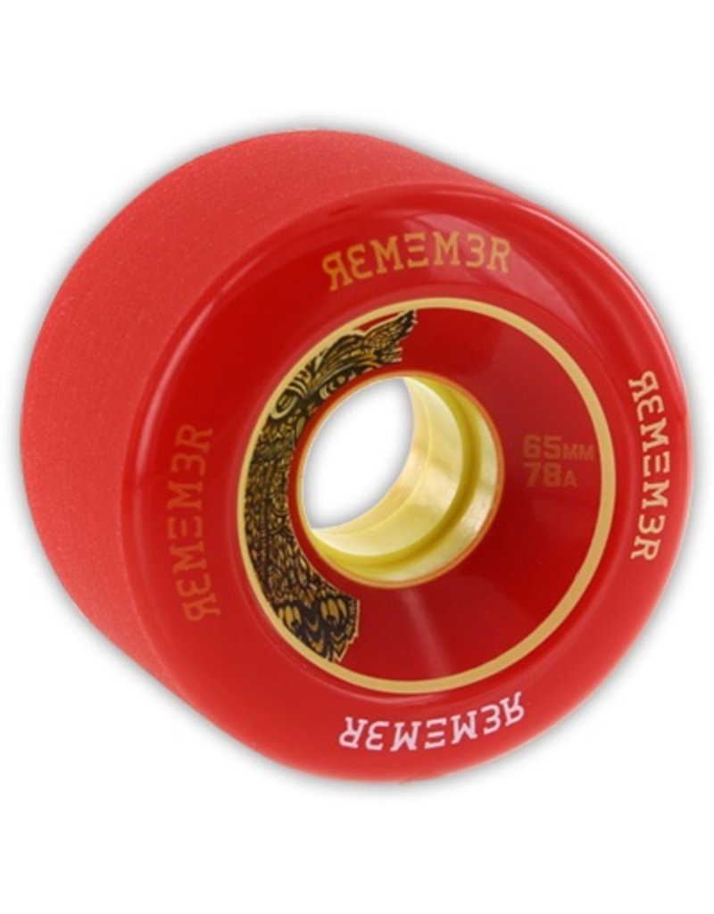 Remember Collective Remember Collective Lil' Hoot Red 65mm 78a wheels (set of 4)