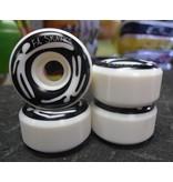 FA skates FA Chupp Wheels (set of 4) Black ink on White