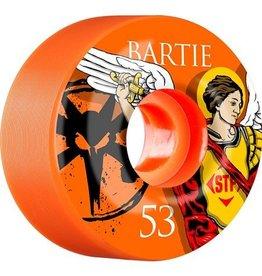 Bones Wheels Bones STF v1 Bartie Saint 53mm Orange Wheels (set of 4)