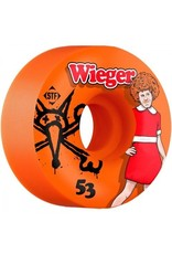 Bones Wheels Bones STF v4 Wieger Annie 53mm Orange Wheels (set of 4)
