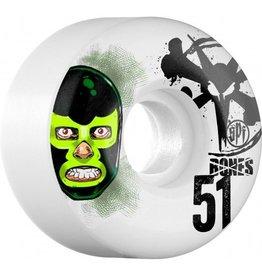 Bones Wheels Bones SPF v1 Lucha LIbre 51mm wheels  (set of 4)