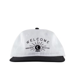 Welcome Welcome Dark Energy Hat - White/Black