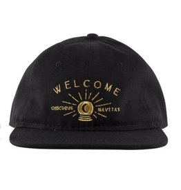 Welcome Welcome Dark Energy Hat - Black/Gold