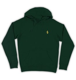 Krooked Krooked Shmolo embroidered Hoodie - Dark Green