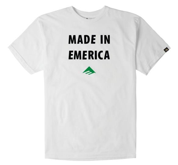 Emerica Emerica Made in Emerica T-shirt - White