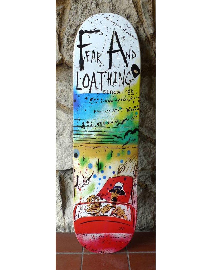 FA skates FA Fear And loathing Deck