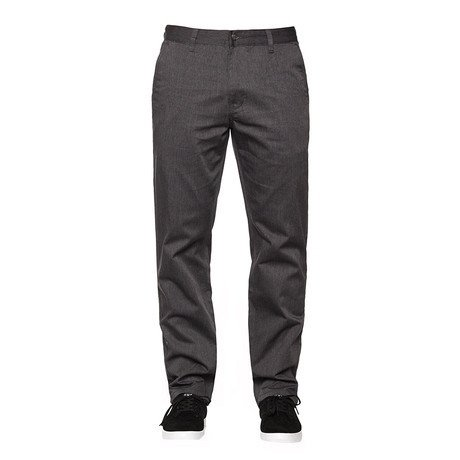 Huf Worldwide Huf Fulton Chino Pants - Charcoal Heather (size 30)