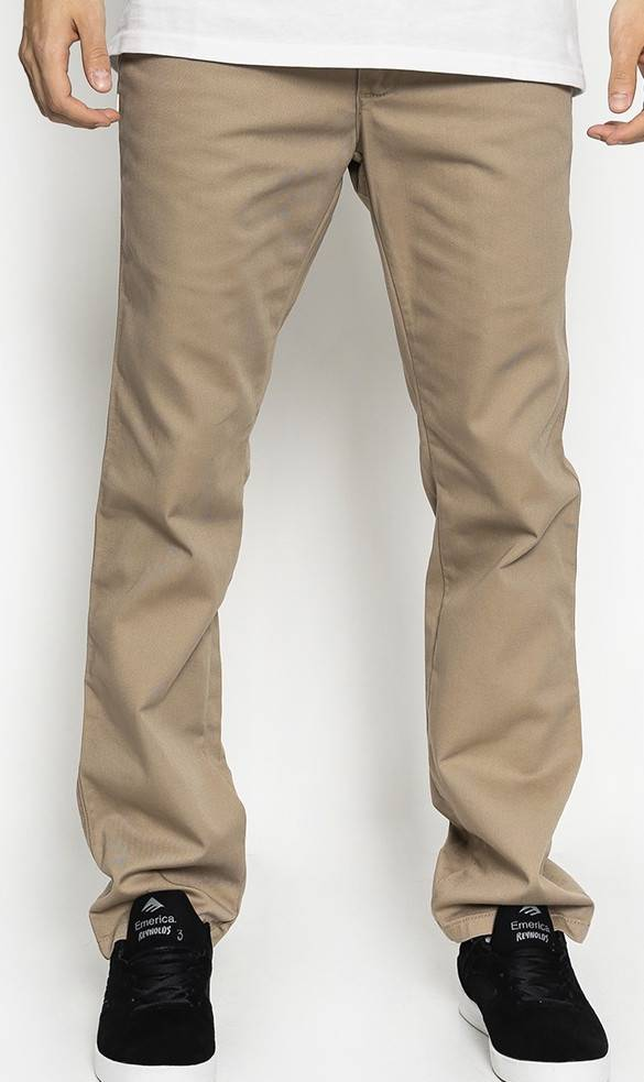 khaki pants and vans