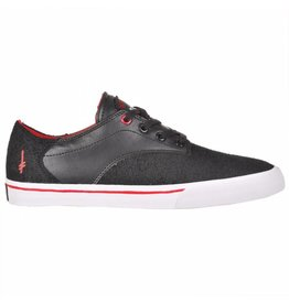 Supra Supra Pistol (Deathwish) - Black/Athletic Red-White (10, 11, 12 and 13)