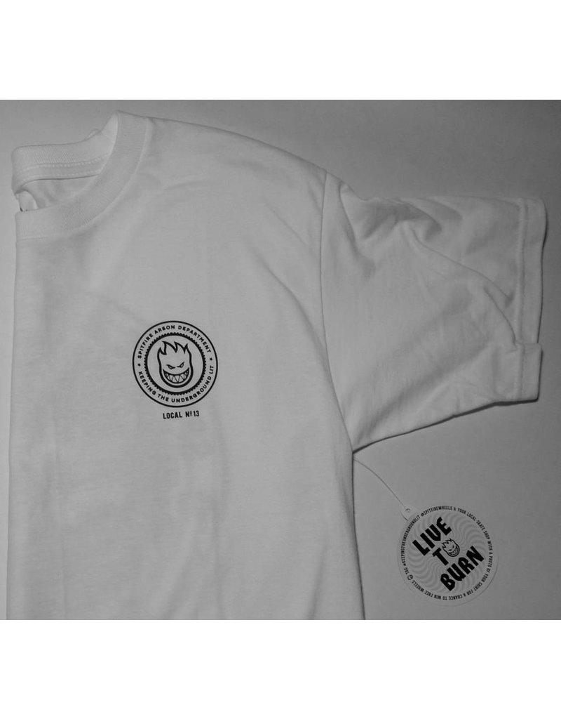 Spitfire FA x Spitfire T-shirt - White