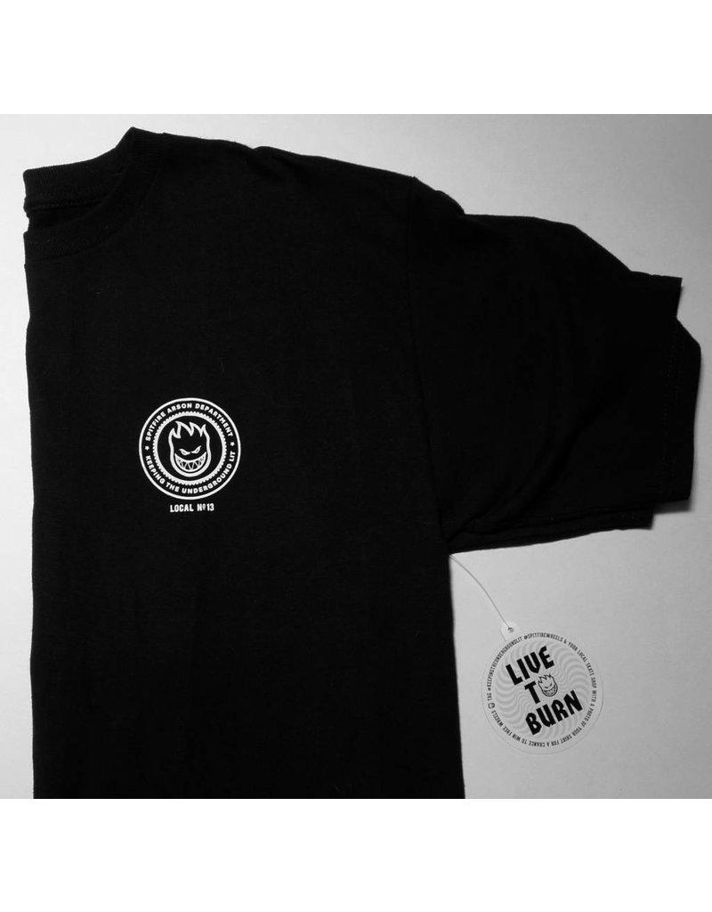 Spitfire FA x Spitfire T-shirt - Black