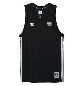 Adidas Adidas x DGK basketball Jersey - Black (Large)