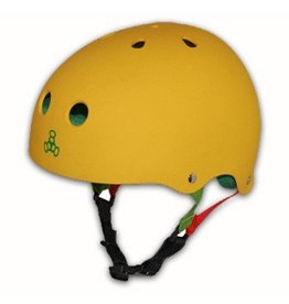 Triple 8 Triple 8 Brainsaver Helmet - Rasta Yellow